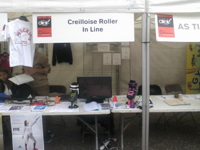 Notre stand.